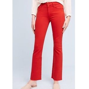 Mother Insider Crop High-Rise Petite Jeans 24